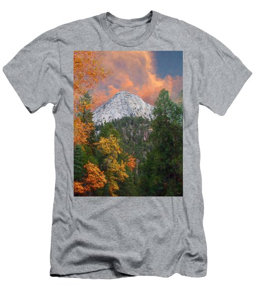 Tahquitz Peak - Lily Rock Painted Version Men's T-Shirt (Athletic Fit)