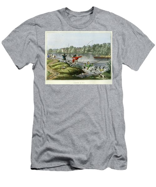 Taking A Fly Men's T-Shirt (Athletic Fit)