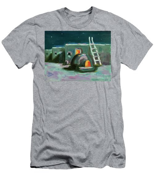 Taos At Night Men's T-Shirt (Athletic Fit)