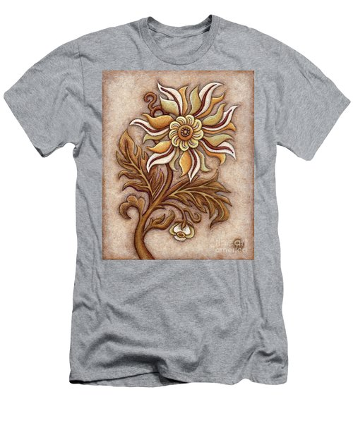 Tapestry Flower 1 Men's T-Shirt (Athletic Fit)