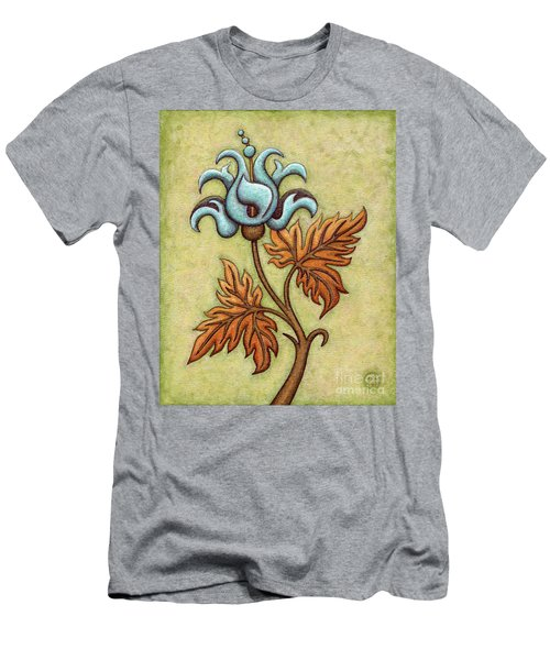 Tapestry Flower 2 Men's T-Shirt (Athletic Fit)