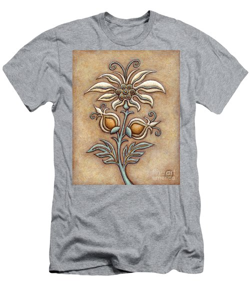 Tapestry Flower 9 Men's T-Shirt (Athletic Fit)