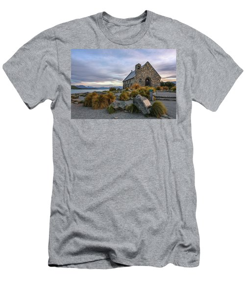 Tekapo - New Zealand Men's T-Shirt (Athletic Fit)