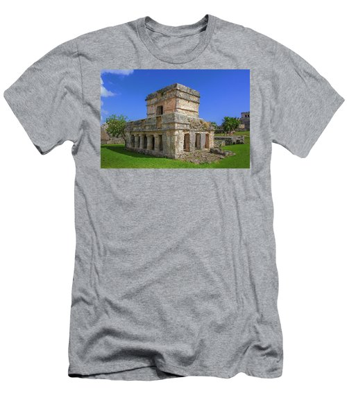 Temple Of The Frescoes Men's T-Shirt (Athletic Fit)