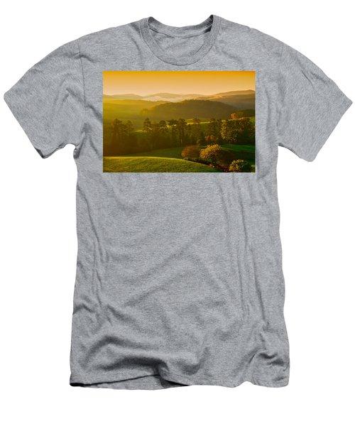 Smokey Mountain Sunrise Men's T-Shirt (Athletic Fit)