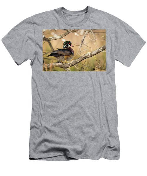Texas Wood Duck Men's T-Shirt (Athletic Fit)
