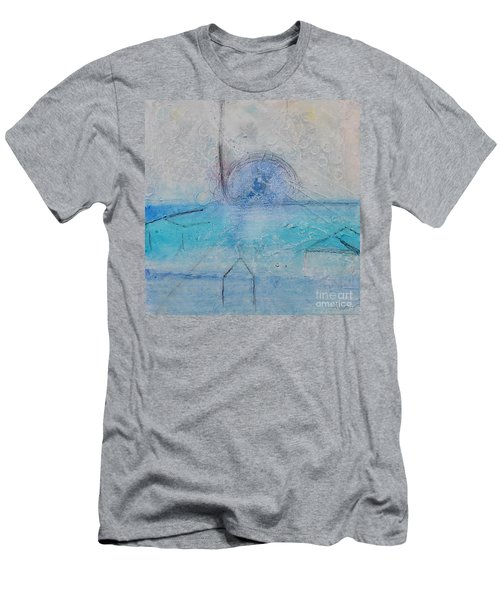Men's T-Shirt (Athletic Fit) featuring the painting The Angels Above Us by Kim Nelson