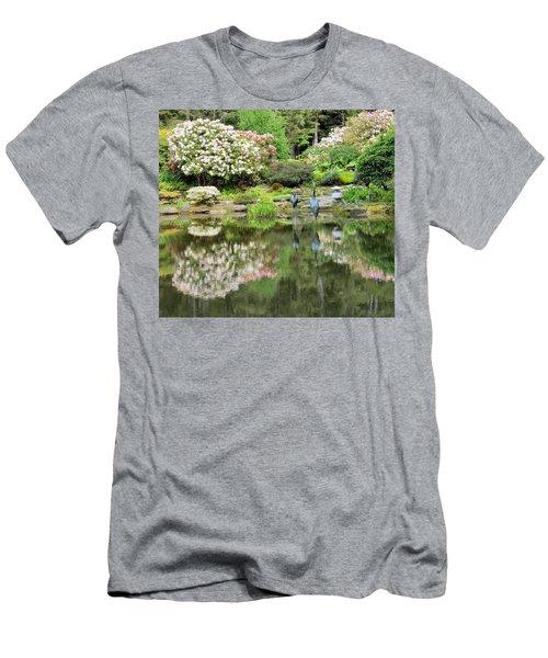 The Birds Of Shore Acres Men's T-Shirt (Athletic Fit)