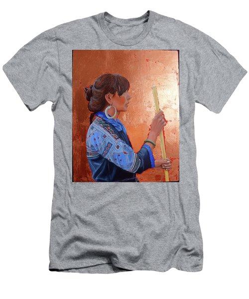 The Black Hmong Princess Men's T-Shirt (Athletic Fit)