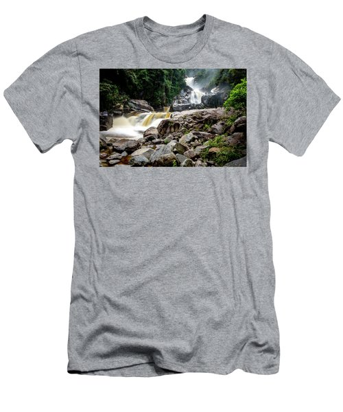 Men's T-Shirt (Athletic Fit) featuring the photograph The Chorros by Francisco Gomez