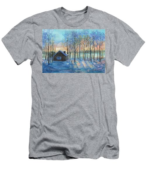 The Color Of Winter Is White ? Men's T-Shirt (Athletic Fit)