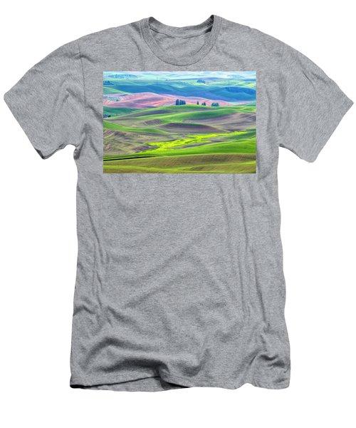 The Color Palette Of The Palouse Men's T-Shirt (Athletic Fit)