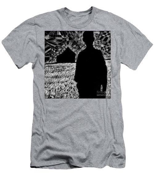 The Delta. Men's T-Shirt (Athletic Fit)