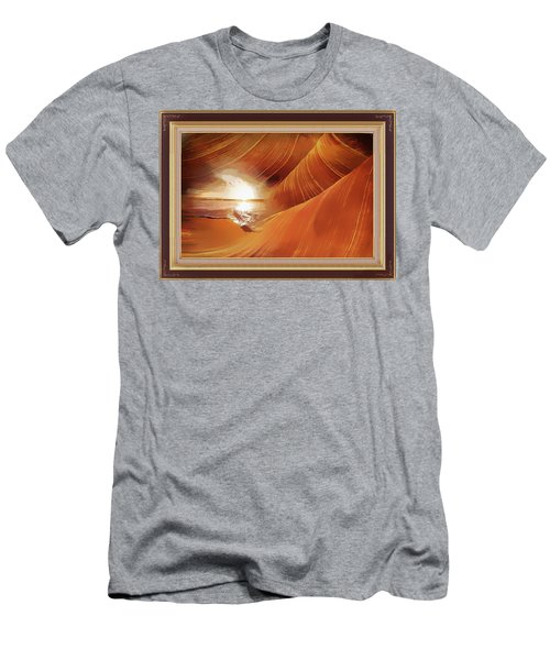 The Desert And The Tide Fantasy Men's T-Shirt (Athletic Fit)