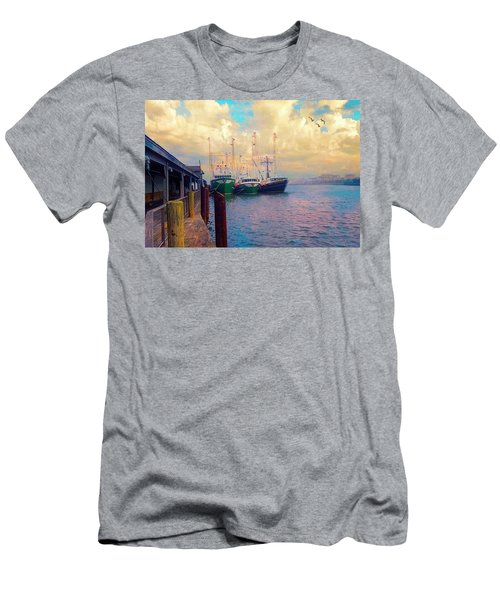 The Docks At Cape May Men's T-Shirt (Athletic Fit)