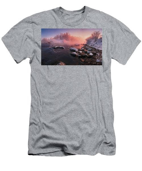 The Fragment Of Frosty Morning Men's T-Shirt (Athletic Fit)