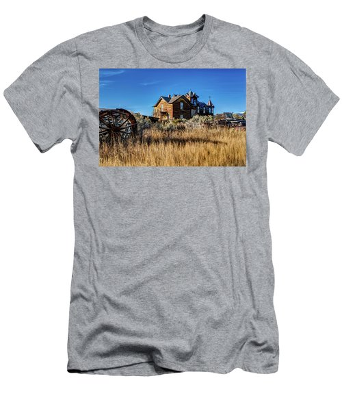 Men's T-Shirt (Athletic Fit) featuring the photograph The House by Pete Federico