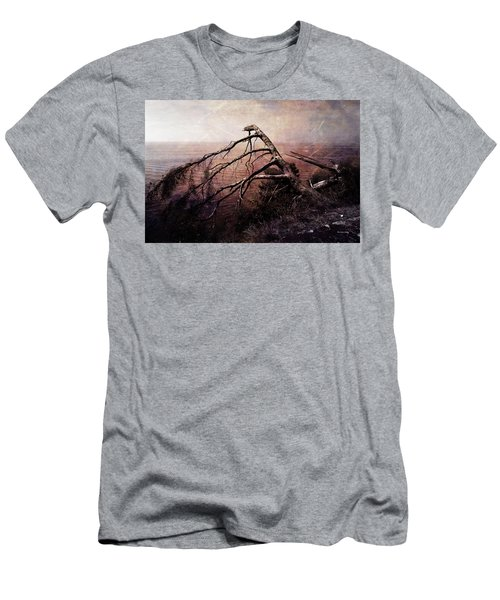 Men's T-Shirt (Athletic Fit) featuring the photograph The Invisible Force by Randi Grace Nilsberg