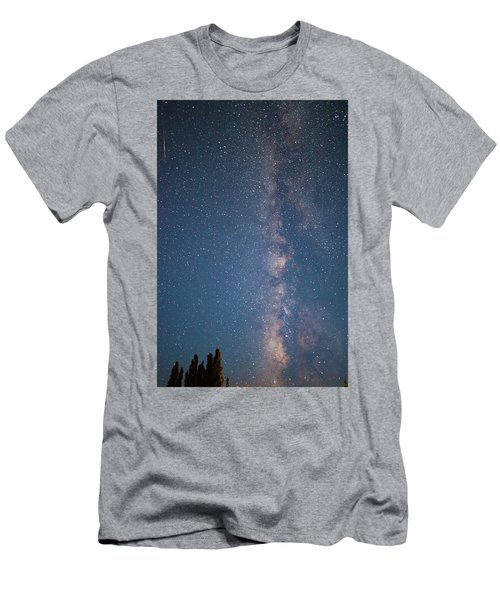 The Milky Way In Arizona Men's T-Shirt (Athletic Fit)