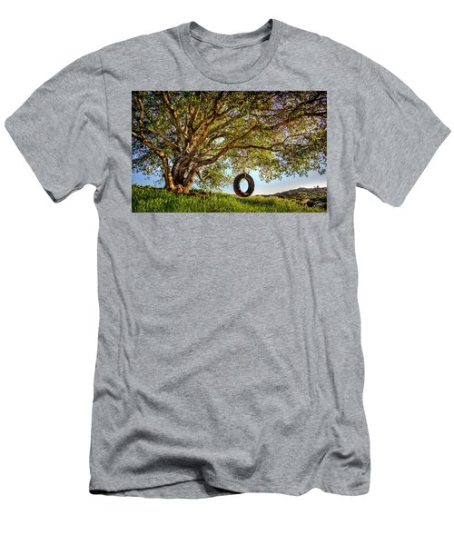 The Old Tire Swing Men's T-Shirt (Athletic Fit)