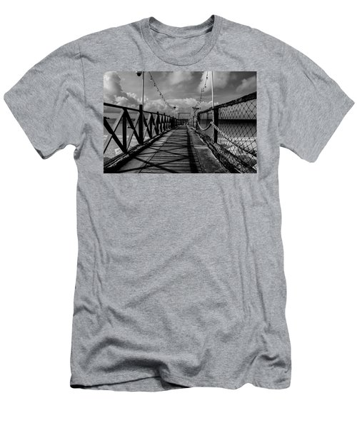 Men's T-Shirt (Athletic Fit) featuring the photograph The Pier #2 by Stuart Manning
