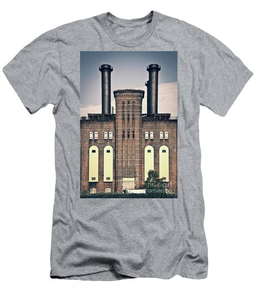 The Powerhouse, Jersey City Men's T-Shirt (Athletic Fit)