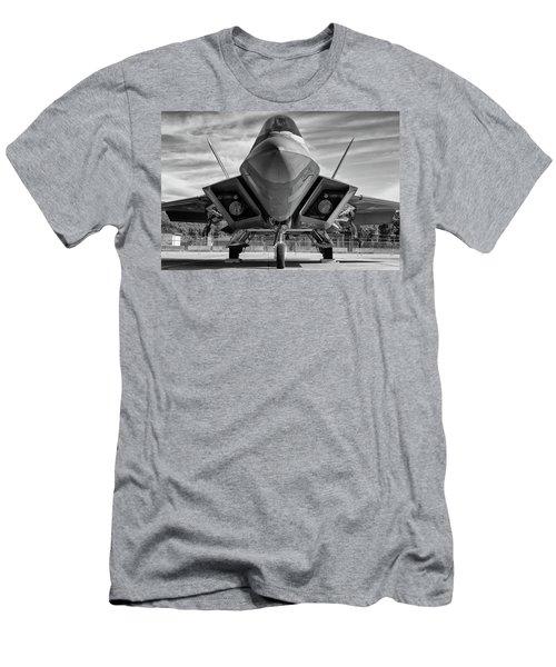 The Raptor Waits Men's T-Shirt (Athletic Fit)