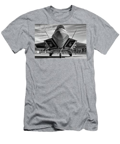 The Raptor Waits Men's T-Shirt (Athletic Fit)