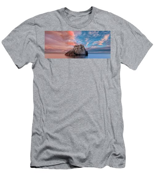 The Rock And The Sea Men's T-Shirt (Athletic Fit)