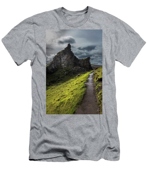 The Rugged Highlands  Men's T-Shirt (Athletic Fit)