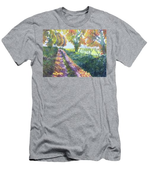 The Tunnel In Autumn Men's T-Shirt (Athletic Fit)