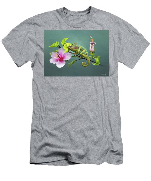 The Veiled Chameleon Of Florida Men's T-Shirt (Athletic Fit)