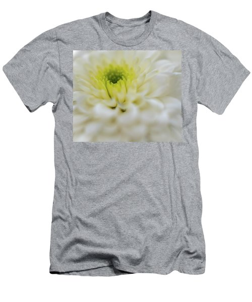 Men's T-Shirt (Athletic Fit) featuring the photograph The White Flower by Francisco Gomez