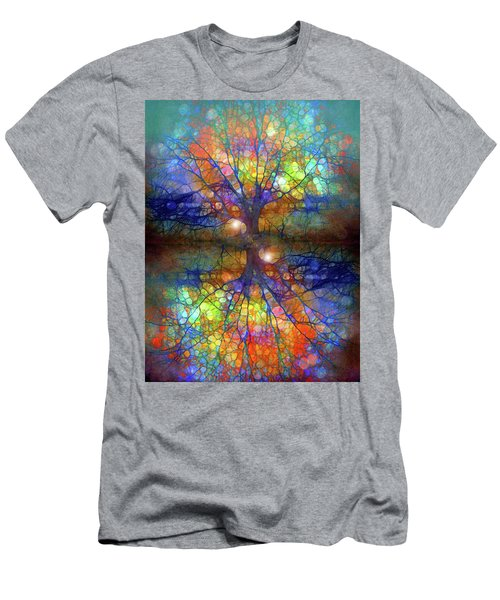 There Is Light Even In These Dark Roots Men's T-Shirt (Athletic Fit)