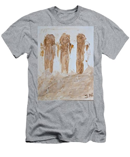 Three Little Muddy Angels Men's T-Shirt (Athletic Fit)