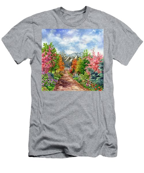 Through All Seasons Men's T-Shirt (Athletic Fit)