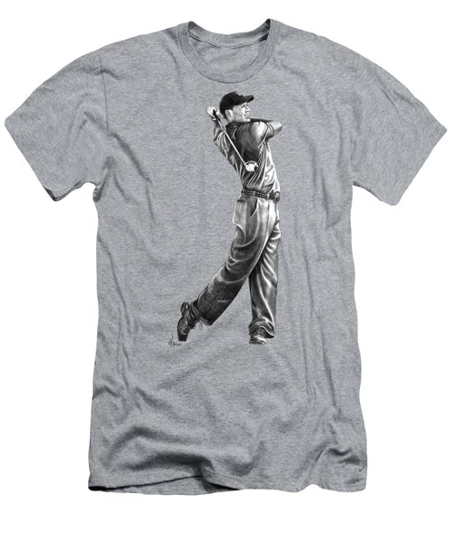 Tiger Woods Full Swing Men's T-Shirt (Athletic Fit)