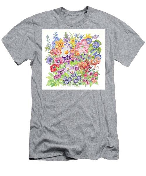 Toxic Tango Iv Fateful Flowers Men's T-Shirt (Athletic Fit)