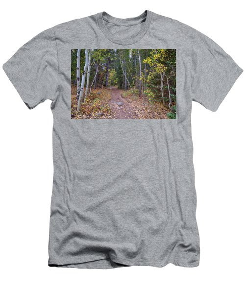 Men's T-Shirt (Athletic Fit) featuring the photograph Trailhead by James BO Insogna