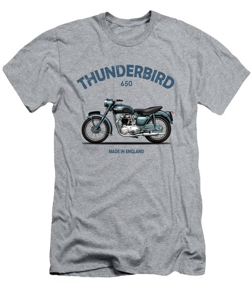 Triumph Thunderbird 1955 Men's T-Shirt (Athletic Fit)