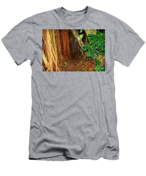 Tropical Corner Men's T-Shirt (Athletic Fit)