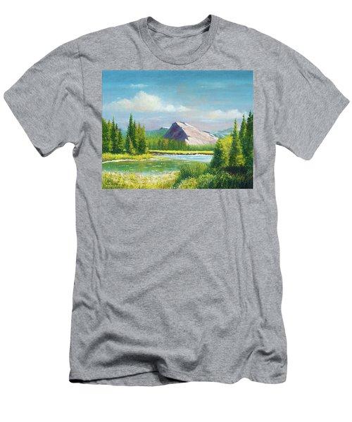 Tuolumme Meadows Spring Men's T-Shirt (Athletic Fit)