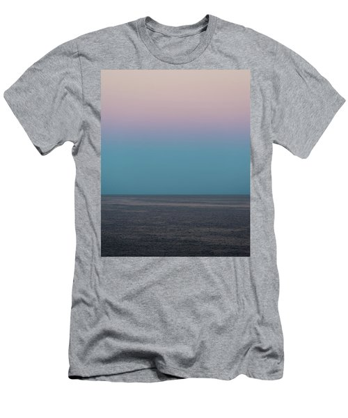 Men's T-Shirt (Athletic Fit) featuring the photograph Twilight At Sea by William Dickman