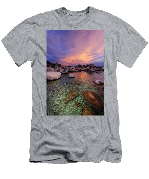 Men's T-Shirt (Athletic Fit) featuring the photograph Twilight Canvas  by Sean Sarsfield