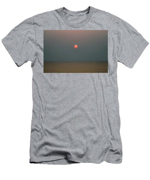 Twilight Sunset At Sea Men's T-Shirt (Athletic Fit)