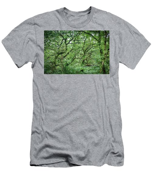 Twisted Forest Full Color Men's T-Shirt (Athletic Fit)