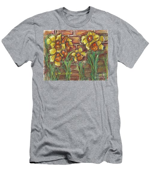 Two Toned Daffodils Men's T-Shirt (Athletic Fit)
