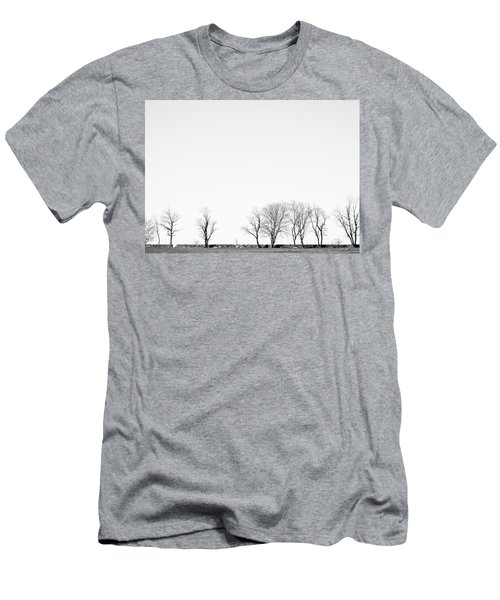 Under A Winter Sky Men's T-Shirt (Athletic Fit)