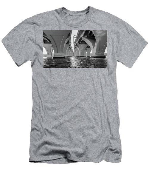 Under The Woodrow Wilson Bridge Men's T-Shirt (Athletic Fit)