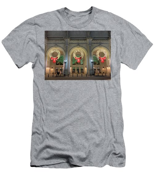 Union Station Holiday Men's T-Shirt (Athletic Fit)